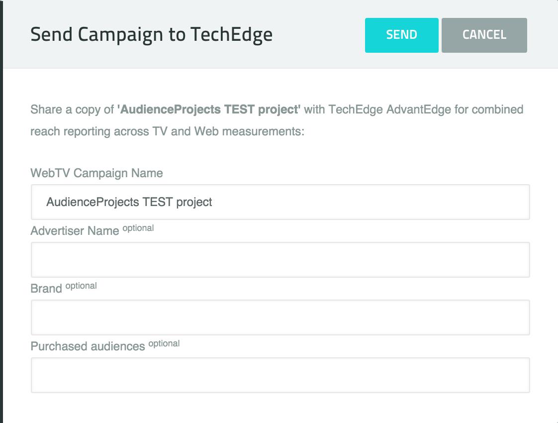 Send Campaign To TechEdge
