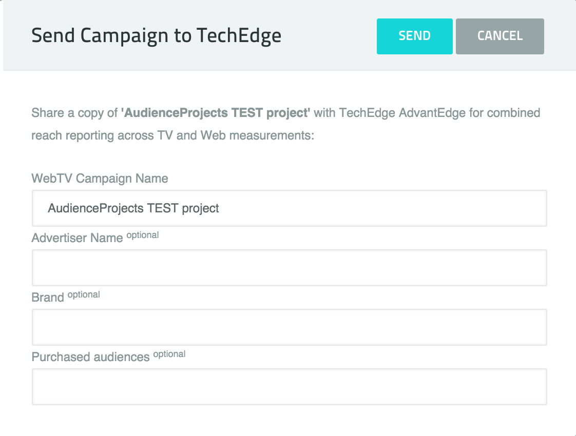Send Campaign To TechEdge